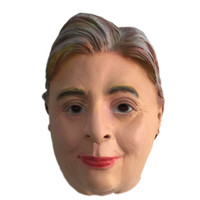 2016 US Elezioni Hillary Mask Masquerade Party Hillary Diane American Presidential Candidate Hillary Clinton Maschere in lattice per Halloween Party