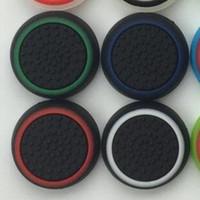 مضيئة سيليكون المطاط الإبهام عصا واقية غطاء عصري قبضة غطاء ل ps4 ps5 xbox one 360 تحكم gamepad عينة