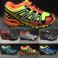 New Autumn Winter Speedcross 3 Children Hiking Shoes Speed C...