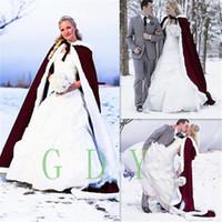 Nouveau Custom Make Mode Satin Cape Cape Cape Médiéval Renaissance Mariage Bridal Bridal Haute Qualité Bon marché