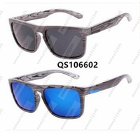 2017 New Arrival Sunglasses #106602 Wood Hand Polished For M...