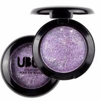 Toptan-Yeni Single Fırında Uzun Ömürlü Göz Farı Pudra Göz Farı Paleti Makyaj 12 Renkler Maquiagem bırakmalar gemi