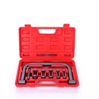 New 10pc Valve Spring Compressor Tool Kit for Car Motorcycle