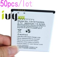 50pcs/lot 2600mAh C816704260L الجديدة 100 ٪ استبدال بطارية ليثيوم أيون BLU Dash 5.5 D470 D470A D470L D470U بطاريات Batteria Batterij