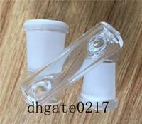 Glass Drop-Down-Adapter 18 mm bis 14 mm weiblich Adapter Glas-Konverter 18,8 mm weiblich auf 14,4 mm weiblich Gelenkadapter für Glas-Adapter Bong