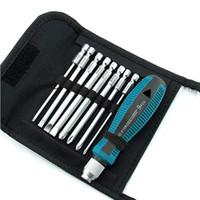 9 قطع مجموعات مفك تشمل القماش حقيبة مزيج دعوى مفك أدوات الجمع مفك الكمبيوتر الهاتف أداة إصلاح الأجهزة المنزلية