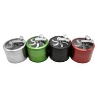 New Super enorme Forma 4 strati Bianco Spice Dry Grinder Herb Smoking Pipa Tabacco Herbal Grinder