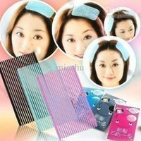 30pcs avant cheveux Fringe Maquillage Grip pince à cheveux se laver le visage épingle à cheveux pour les femmes fille Accessoires cheveux Livraison gratuite