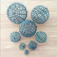 baciare palla cornice palla plactic, precisione fiore di DIY decorazione del partito il trasporto libero FB010