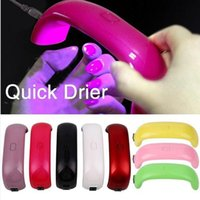 UV Light Lamp Mini Portable Nail Dryers 9W For Gel Varnish P...
