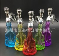 Творческий изысканный скрипка кувшин фильтрованной воды трубы для некурящих трубы металлические фитинги