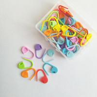 50 Teile / los Kunststoff Strick Häkeln Locking Stich Marker Häkeln Latch Stricken Werkzeuge Nadel Clip Haken Mischfarbe