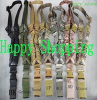 Tactical Sling 1000D Один одноточечного Слинг Регулируемых Банджей стрелковой Gun Sling ремень система