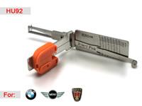 Akıllı HU92 2 in 1 Otomatik Seçim ve Kod Çözücü Kilit Pick Aracı Çilingir BMW için