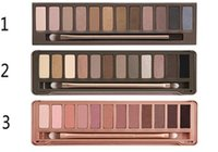 Hot sale Nude 1&2&3 eye shadow palette Makeup 12 color eyesh...