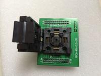 Enplas IC TEST SOCKET FPQ-48-0.5-06 con PCB SCHEDA QFP48-DIP48 0.5MM PITCH BURN IN SOCKET