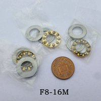 100шт F8-16m осевые упорные шариковые подшипники 8*16*5 миниатюрная плоскость толкнула шаровой подшипник 8x16x5 mm