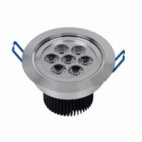 Hot Sale Dimmable LED ceiling down light 7x3W 21W Ligh Warm ...