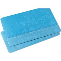 Mesvol Metal Nail Stamping Plaques Designs Professionnels 20pcs Stamp Image Nail Stamp Tampon Modèle BC01-20 120 * 60mm