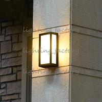 크리 에이 티브 야외 벽 램프 방수 야외 안뜰 발코니 테라스 정원 벽 램프 레트로 안뜰 벽 sconce