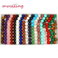 Ball Beads DIY Jewelry Making 16mm Rose Quartz Amethyst etc Various Natural Stone Charms Fashion Findings Accessories