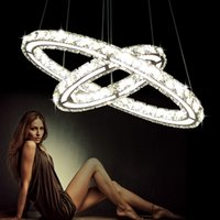 Modern LED Crystal Chandelier Lights Lamp For Living Room Cr...