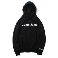 Places + Faces Black Hoodie Sweatshirt Hip Hop Kanye Street ...