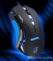 Professional 6D 3200DPI LED Optical Wired Gaming Mouse for P...