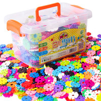 300 Pieces DIY Assembling Classic Toys 2. 6mm Thickness Snow ...