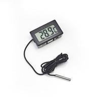 냉동고의 온도를위한 새로운 LCD 디지털 온도계 -50 ~ 110도 냉장고 냉장고 온도계 주방 도구 무료 배송
