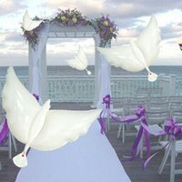 Wedding Decoration White Dove Balloon White Wedding Balloons...