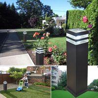 2019 8PCS / 많은 야외 방수 조명 주도 잔디 램프 안뜰 정원 라이트 가로 램프 가로등 HQ-5008-2