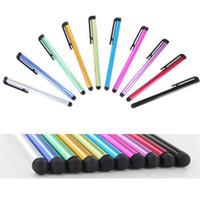 Универсальный емкостный Стилус для Iphone5 5s сенсорная ручка для мобильного телефона для планшета различных цветов