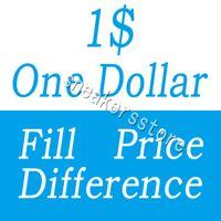 Un dollar Fill paiement Différence de prix pour DHL EMS différents frais d'expédition de frais supplémentaires diferent etc.