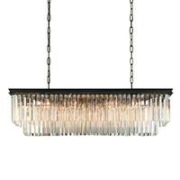 Świecznik oświetlenie mini duży długie kryształ żyrandol ccontemporal żyrandol do jadalni Gold Crystal Lampa 68 Light Crystal LED Lampa