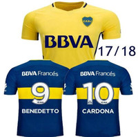 hot sale 2017 2018 Boca Juniors Soccer Jerseys 17 18 GAGO CA...