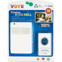 Voye V005A drahtlose Fernbedienung Türklingel mit 10 verschiedenen Chimeswith Batterie (weiß)