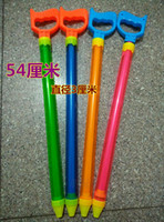 free shipping whilesaSummer rafting water gun Transparent water gun barrel pull-out water fight water gun water gun water cannons beach toys