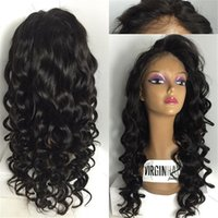 High quality sexy and fashion wave front lace wig & full lac...