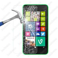 Vetro temperato protettivo per touch screen 9H 0.3mm a prova di esplosione per Nokia Lumia 520 620 630 730 820 920 925 930 1020 1320 1520