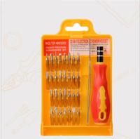 Kit de herramientas de destornillador de hardware profesional 32 en 1 KIT DE PREPARACIÓN DE REPARACIÓN apertura de destornillador Torx Pentalobe para teléfono portátil