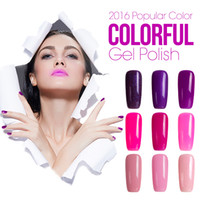 Azure 10Pcs Shining Gel Nail Polish Soak- off UV Led Gel Poli...