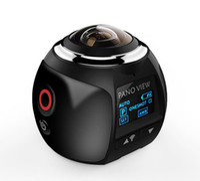 V1B كاميرا 360 Action WiFi 2448 * 2448 Ultra HD البسيطة بانوراما درجة القيادة الرياضية VR + مربع التجزئة المتأنق