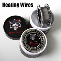 Heating Wires For E Cigs RDA Atomizers Premade Coils Clapton...