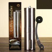 Creative Cafe Bean Grinder Aço Inoxidável Mão Manual Moedor Moinho Moinho Moinho De Cozinha CCA6902 25PCS