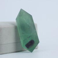 HJT sıcak satmak Yeni kristal noktası doğal florit noktası kuvars reiki şifa kristal Cure çakra taş değneklerini satış için