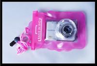 Водонепроницаемый чехол для камеры Цифровая камера Водонепроницаемые сумки Видео Водонепроницаемые чехлы Подводный плавучий чехол для камеры Бесплатная доставка H2010