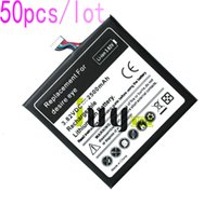 50 pçs / lote 2500 mah b0pfh100 bateria de substituição para htc desire eye m910x m910n baterias batterij batterij batterie