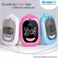Reloj inteligente para Niños Niños Anti-perdida con el botón SOS UPro P5 GPS WIFI Reloj inteligente inteligente para niños Dispositivo de seguimiento para niñosBaby 1 / lot