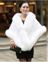 2018 Winter Wedding Coat Bridal Faux Fur Wraps Warm shawls O...